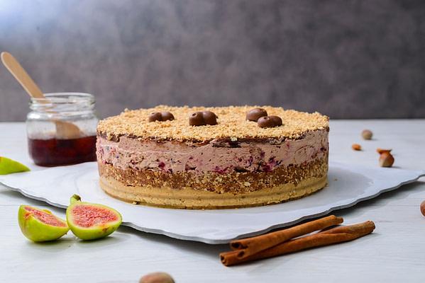 Posno Choco cherry torta