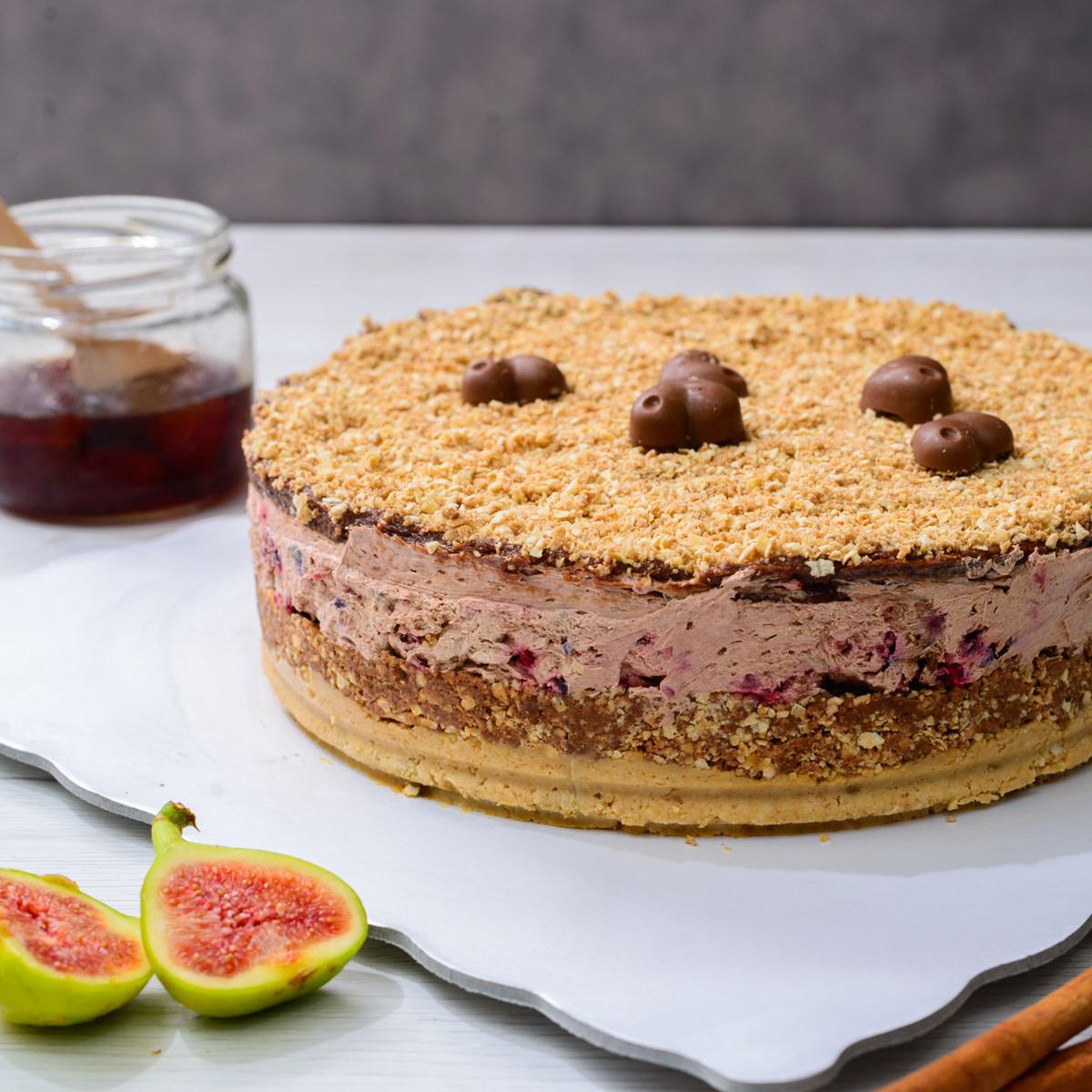 Posna Choco cherry torta