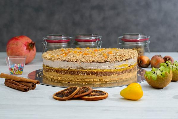 posna torta kremasta narandza