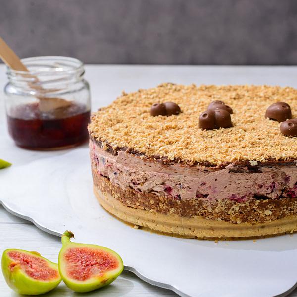 Torta cokolada visnja