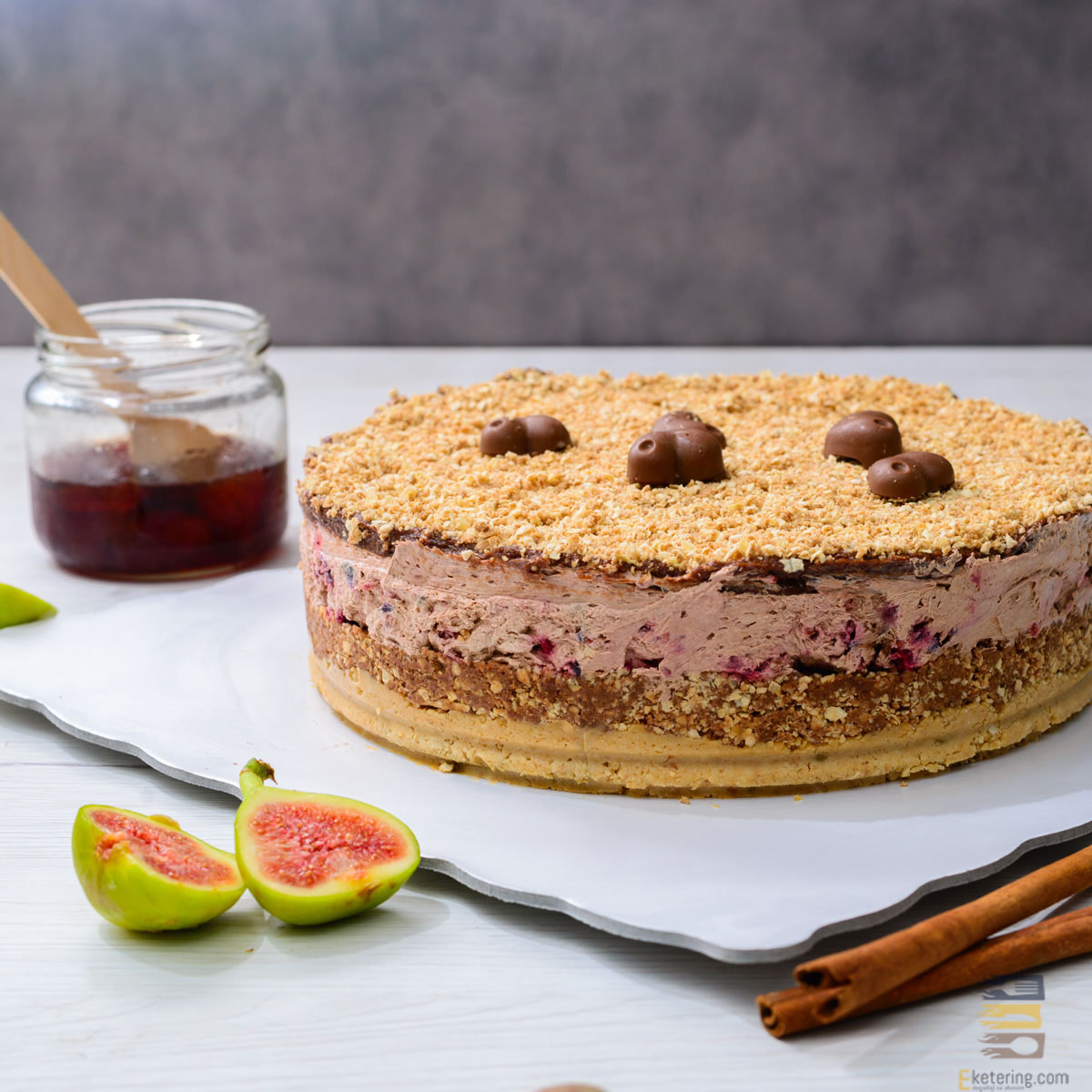 Posna Choco malina torta